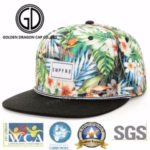 2017 New Satin Fashion Era Hat Cool Snapback Cap with Screen Printing pictures & photos