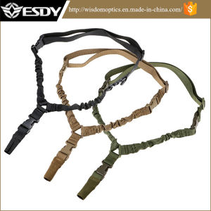 Esdy Tactical 1 Point Quick Release Bungee Outdoor Hunting Sling pictures & photos