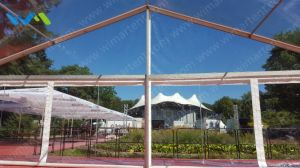 8X60m Modular Structure Marquee with Clear Sidewalls in Europe pictures & photos