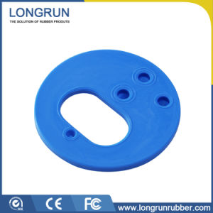 OEM Sheet Disc Silicone Rubber Bushing with Cr Nr Material pictures & photos