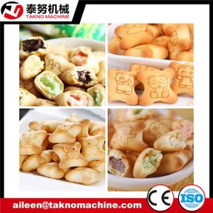 Automatic Core Filling Biscuit Making Machine pictures & photos