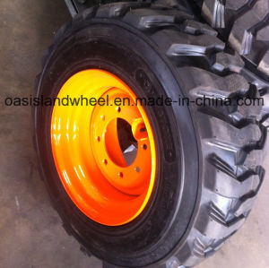 Industrial Skid Steer Loader Tyres (10-16.5 12-16.5) with Rim pictures & photos