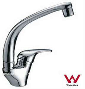 Australia Standard Sanitary Ware Watermark Water Saving Durable Brass Chrome Plated Kitchen Sink Tap (HD3508) pictures & photos