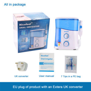 FDA Ce RoHS Approved UV Light Power Floss Oral Irrigator pictures & photos