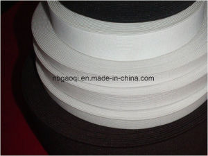 White Color Woven Elastic Tape for Bra pictures & photos