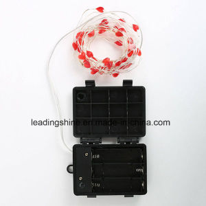 Waterproof IP65 Battery Pack Micro Fairy Light String Lights Decoration pictures & photos