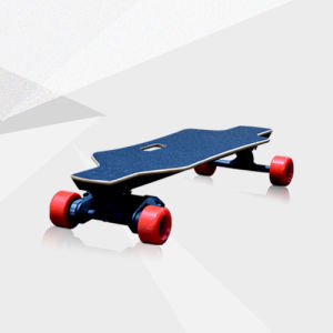 Newest Sporty and Faster 4 Wheels Electric Hoverboard/Remote Control Skateboard