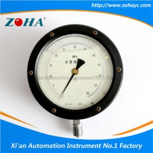 Radial Shock Proof Oil Filled Test Precision Pressure Gauge pictures & photos