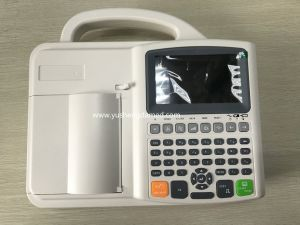 Hot Sale Ce Approved Hospital Equipment Digital ECG EKG Machine pictures & photos