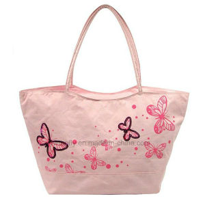 Candy Color Leisure Summer Lady Handbags with Long Totes pictures & photos