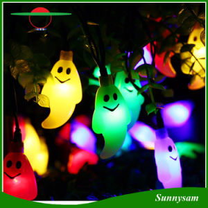Solar Outdoor String Lights 50 LED Ghost Solar Lamp Waterproof Light for Garden, Patio, Yard, Home, Parties Decoration pictures & photos