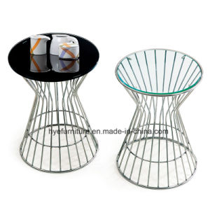 Glass Side Table Living Room Glass Furniture pictures & photos