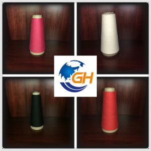 Polyester Spun Yarns in Red pictures & photos