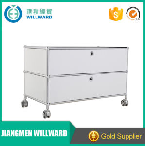 High Quality Steel 2 Drawer Colorful Pictures File Cabinet pictures & photos