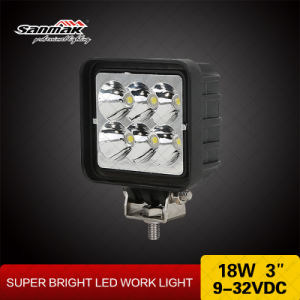 "18W 3"" Offroad Light Us CREE LED Work Light pictures & photos"