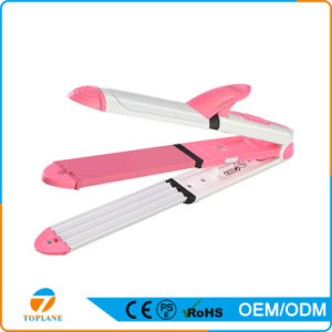 3 in 1 Hair Straightener Flat Iron and Hair Curling Iron pictures & photos