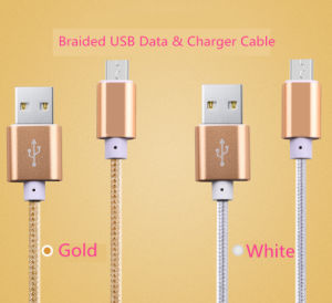 Computer Mobile Phone Use and Lighting USB Type Fast Charging Cables pictures & photos