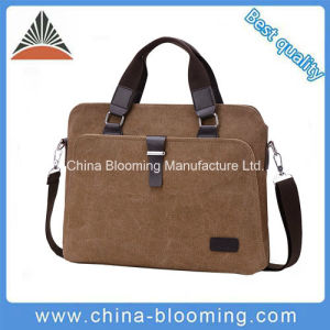 Messenger Canvas Business iPad Shoulder Laptop Computer Briefcase pictures & photos