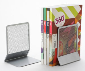 Desk Supplies/ Metal Mesh Stationery Bookends/ Office Desk Accessories pictures & photos