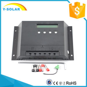 Max-30A 12V/24V 60A PWM Solar Charge Controller pictures & photos