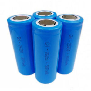 26650 3.7V 4000mAh 4500mAh 5000mAh Lithium Ion Battery pictures & photos