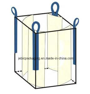 PP Woven Tote Bag FIBC Bulk Bag with Baffle pictures & photos