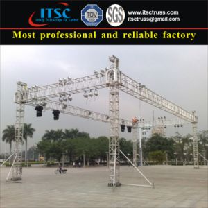 4 -Pillar Base Structure Truss pictures & photos