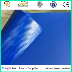 Flame Retardant Polyester 500d PVC Tarpulin Fabric for Tent Transport Industrial Use pictures & photos