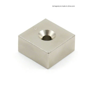 Block Permanent Sintered NdFeB Magnet for Industry pictures & photos
