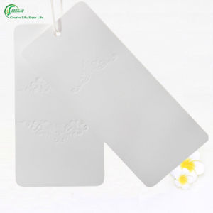 White Card Eco-Friendly Printed Logo Hang Tag (KG-PA027) pictures & photos