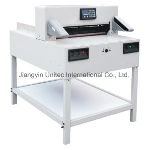 Trending Hot Products Sheet Metal Programmable Paper Cutting Guillotine Machine 7205px pictures & photos
