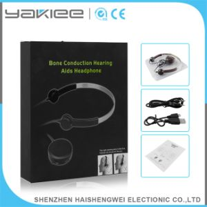 Clearly Hear ABS Wired Bone Conduction Hearing Aid pictures & photos