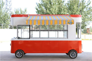 Mobile Food Kiosk with Full Set of Kitchenware pictures & photos