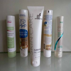 White Plastic Soft Tube Packing with Flip Top Cap pictures & photos