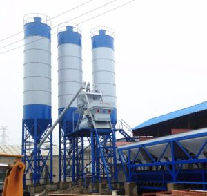 Hzs100 Concrete Batching Plant pictures & photos
