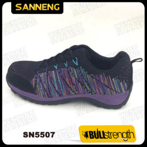 Women Casual Work Shoe with Composite Toe and Lighter Outsole (SN5507) pictures & photos