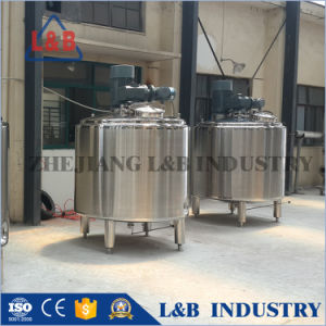 2300L Steel Industrial Cooling and Heating Jacket Milk Churning Machine pictures & photos