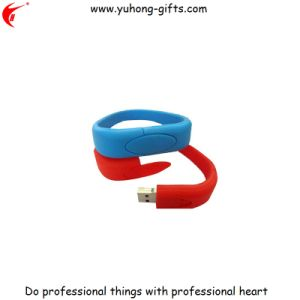Hot Sale USB Silicone Wristband 2.0g (YH-USB005) pictures & photos