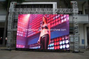 Large Viewing Angle and Low Cost SMD Outdoor LED Module P10 pictures & photos