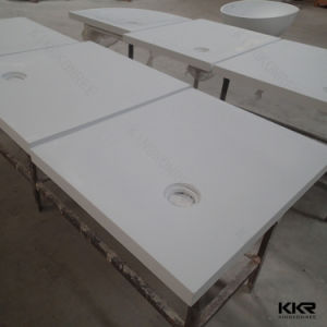 Kingkonree Shower Base Solid Surface Bathroom Shower Tray pictures & photos