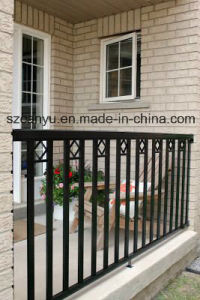 Wholesale Cheap Price Black Aluminum Fence /Wrought Iron Fence pictures & photos