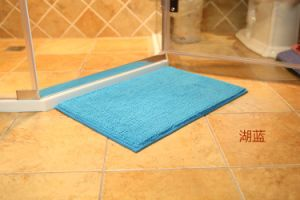 Chenille Microfiber Short Pile Floor Mat pictures & photos