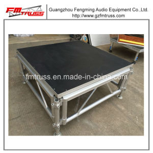 2017 Hot Sale Aluminum Small Concert Stage, Portable Wooden Stage pictures & photos