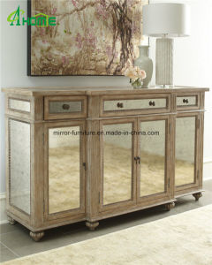 Living Room/Hotel Furniture High Quality Mirrored Cabinets pictures & photos
