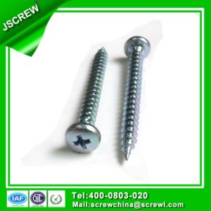 Phillips Pan Head 5*50 Self Tapping Screw for Wood Furniture pictures & photos