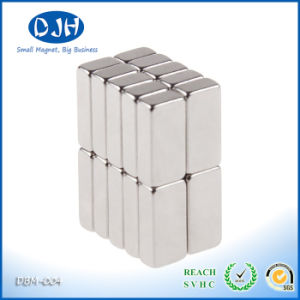 10*5*3mm N38 Grade NdFeB Block Shaped, Stronger Power Than N35 Grade pictures & photos