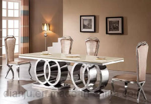Hot Sale 2017 Dining Room Furniture Long Table (A6688-1) pictures & photos