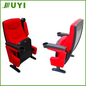 Jy-616 Soft Auditorium Seating Chair with Cupholder Hall Cinema Chair pictures & photos