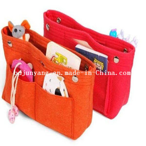 Custom Logo Felt Girl Handbags pictures & photos