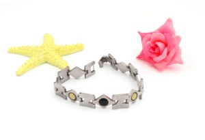 New Black Stainless Steel Watch Jewelry Bracelet pictures & photos